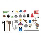 LEGO Castle Theme Minifigure Illustration by Design-Jobber.co.uk